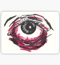 Bloodshot  Sticker