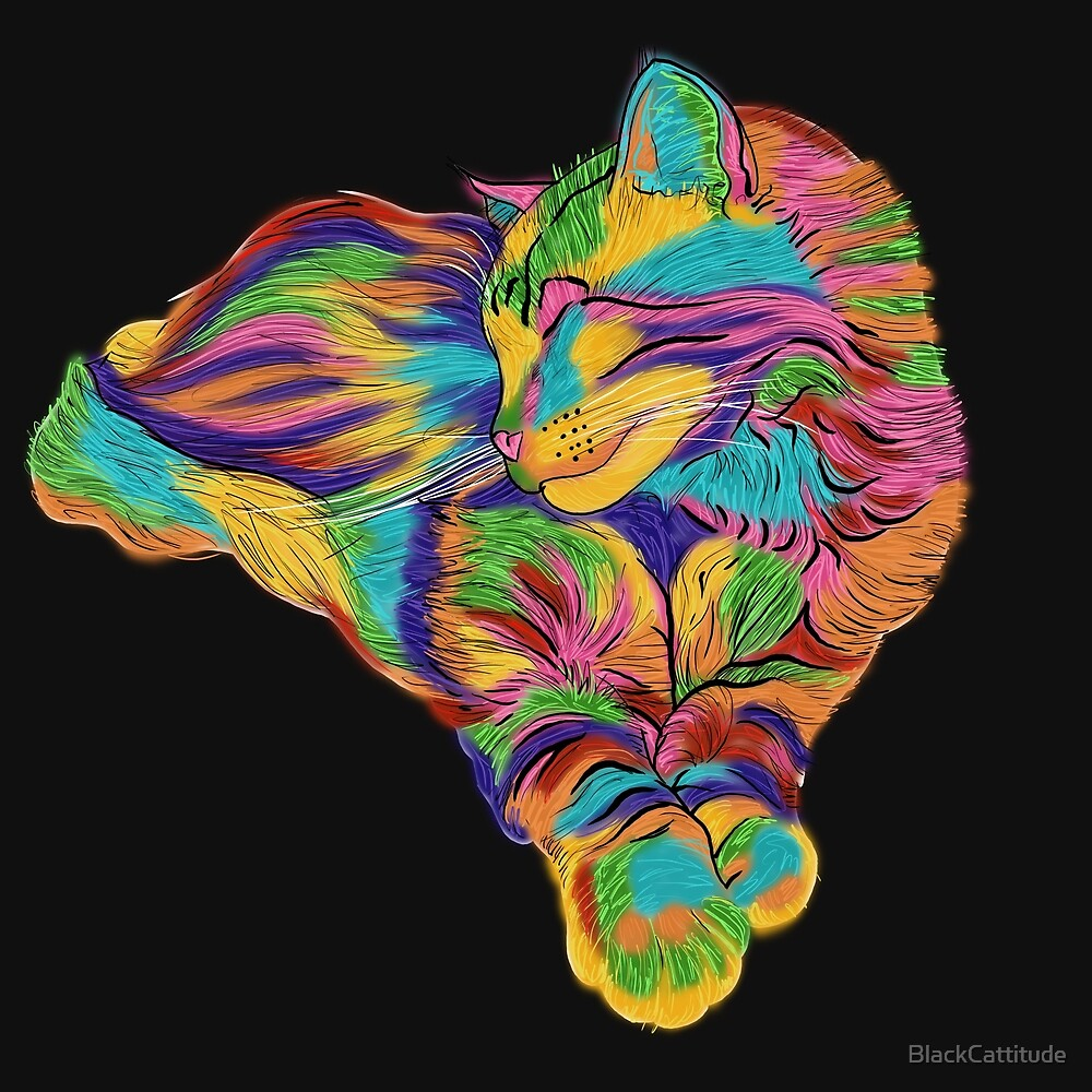 Psychedelic Max by BlackCattitude