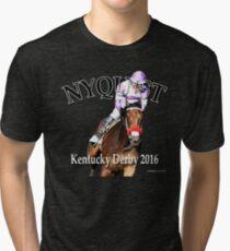 Nyquist Kentucky Derby Winner Tri-blend T-Shirt
