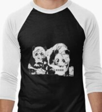 Limpio - Help Protect Panda Reserves Men's Baseball ¾ T-Shirt