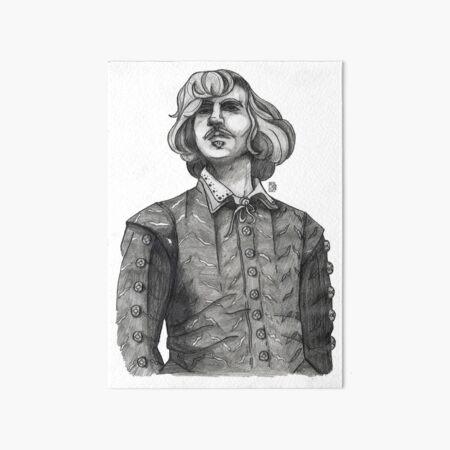 Christopher Marlowe Art Board Print