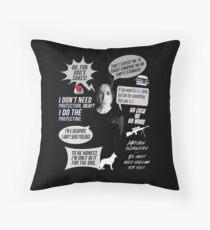 Sameen Shaw - Person of Interest - Sarah Shahi Throw Pillow
