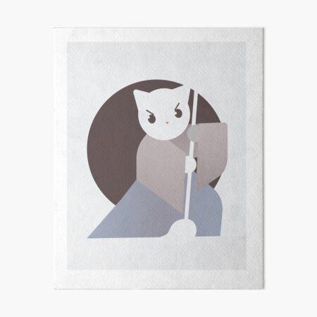 The Cat Ligrapher Art Board Print