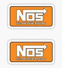 NOS Nitrous double stickers (2) Sticker