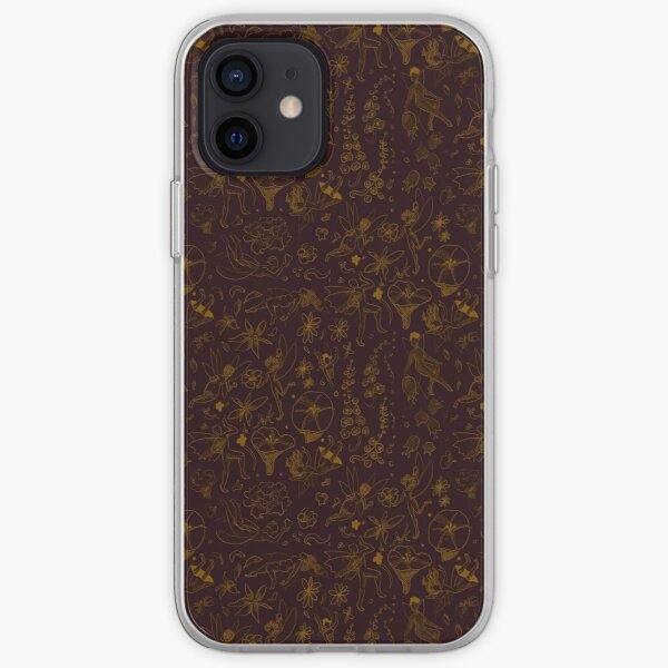 Pillywiggins in Red and Gold iPhone Soft Case