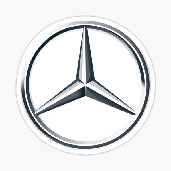 Logo de Mercedes Pegatina