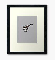 You Were Coveting My Grappler - Warehouse 13 Framed Print