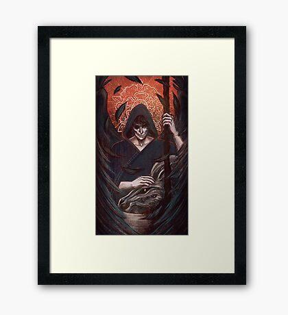 Death - Thanatos Framed Print