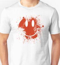 Acid House Smiley Face - Grunge T-Shirt
