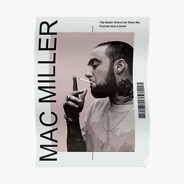 Mac Is Relaxing In The Room Poster