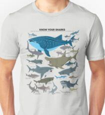 Know Your Sharks Unisex T-Shirt