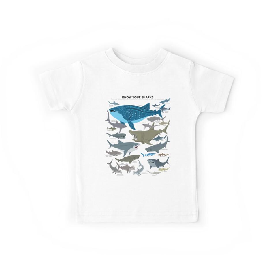 «Conozca a sus tiburones» de PepomintNarwhal