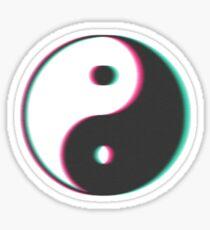 Trip Yin Yang Sticker