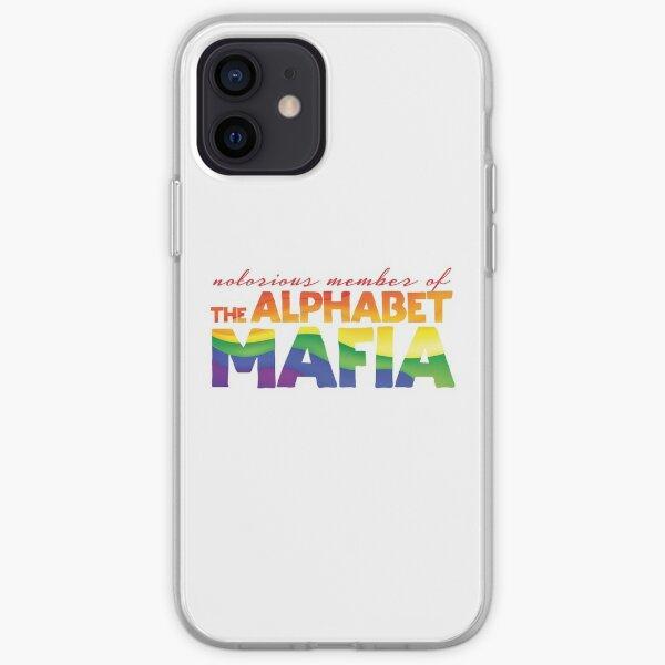 Miembro notorio de la mafia del alfabeto Funda blanda para iPhone