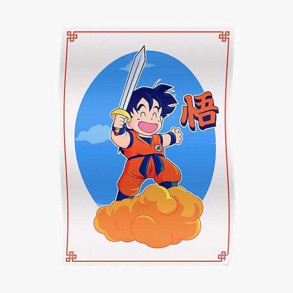 Goku T-Shirts DragonBall Poster dragon bal z Sticker Poster