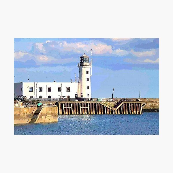 Scarborough Harbour Entrance Photographic Print