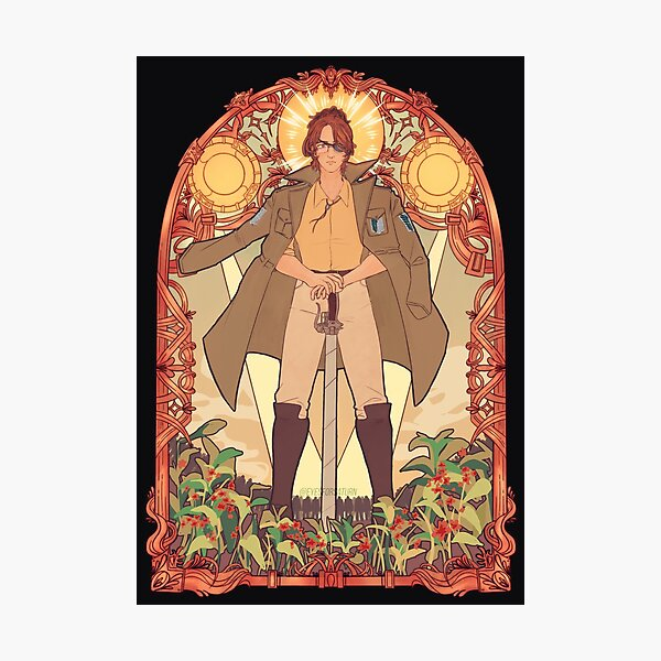 Hange Zoe - Stained Glass Print Photographic Print