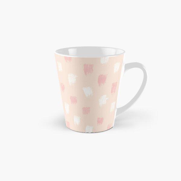 Blush Scandi dot stripes Tall Mug