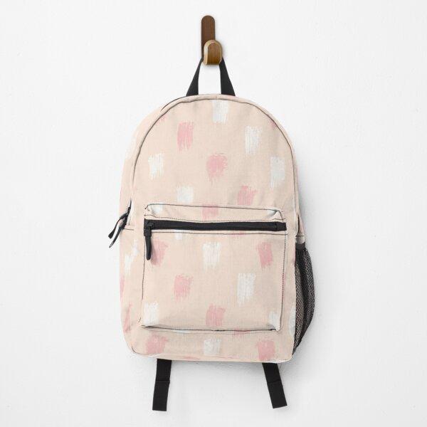 Blush Scandi dot stripes Backpack