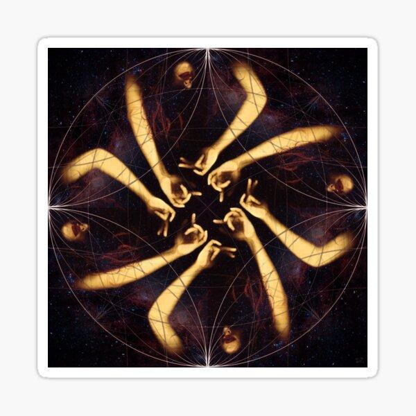 Choirgirl Hotel Sacred Geometry Circles Sticker