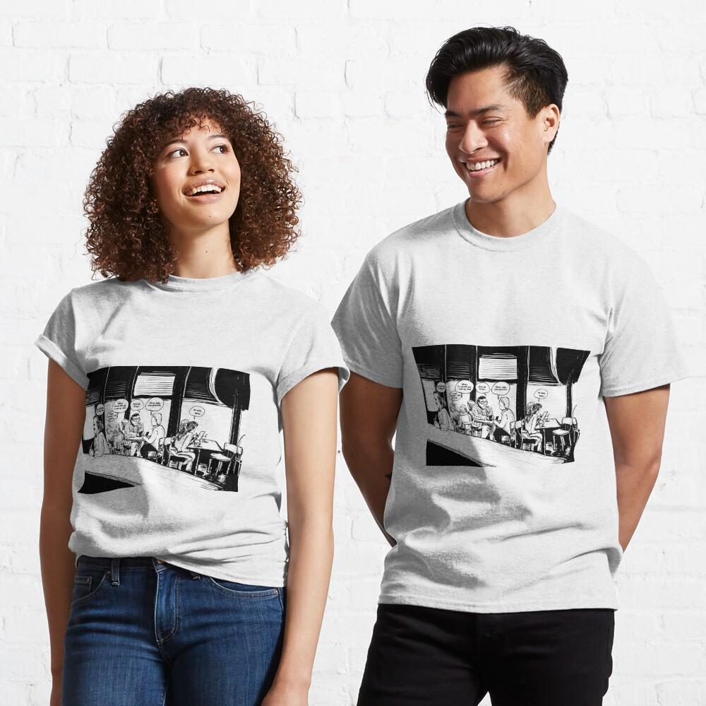 Amsterdam Bar Bitch! Classic T-Shirt