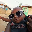 Cool African Boy from Ghana, West Africa by Remo Kurka