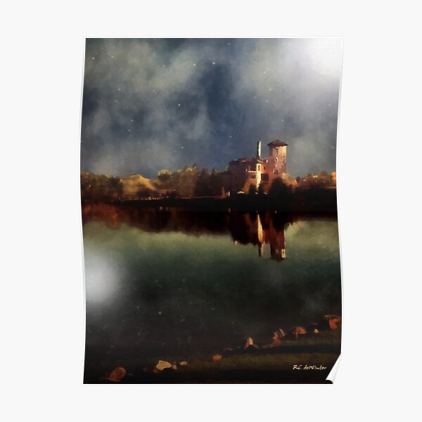 The Lake and the Sky Poster