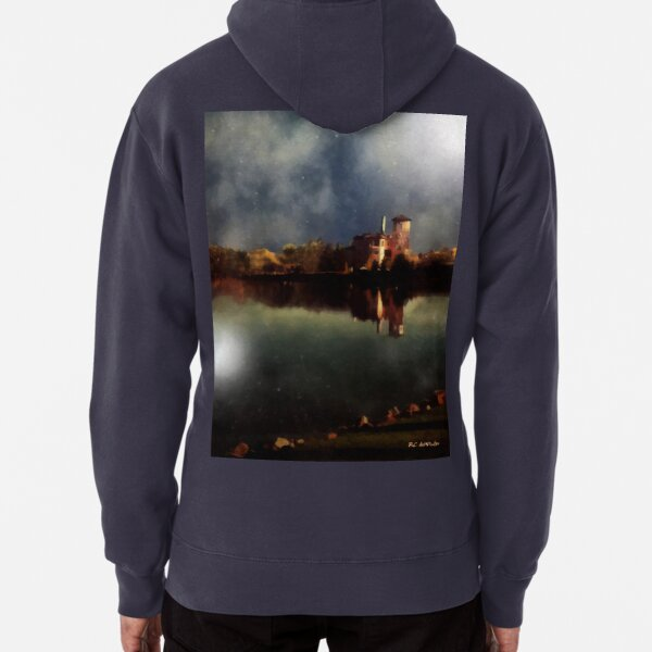 The Lake and the Sky Pullover Hoodie
