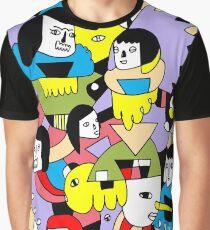Collage de color Camiseta gráfica