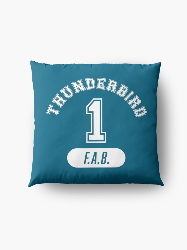 Alternate view of Thunderbird 1 with FAB. Floor Pillow