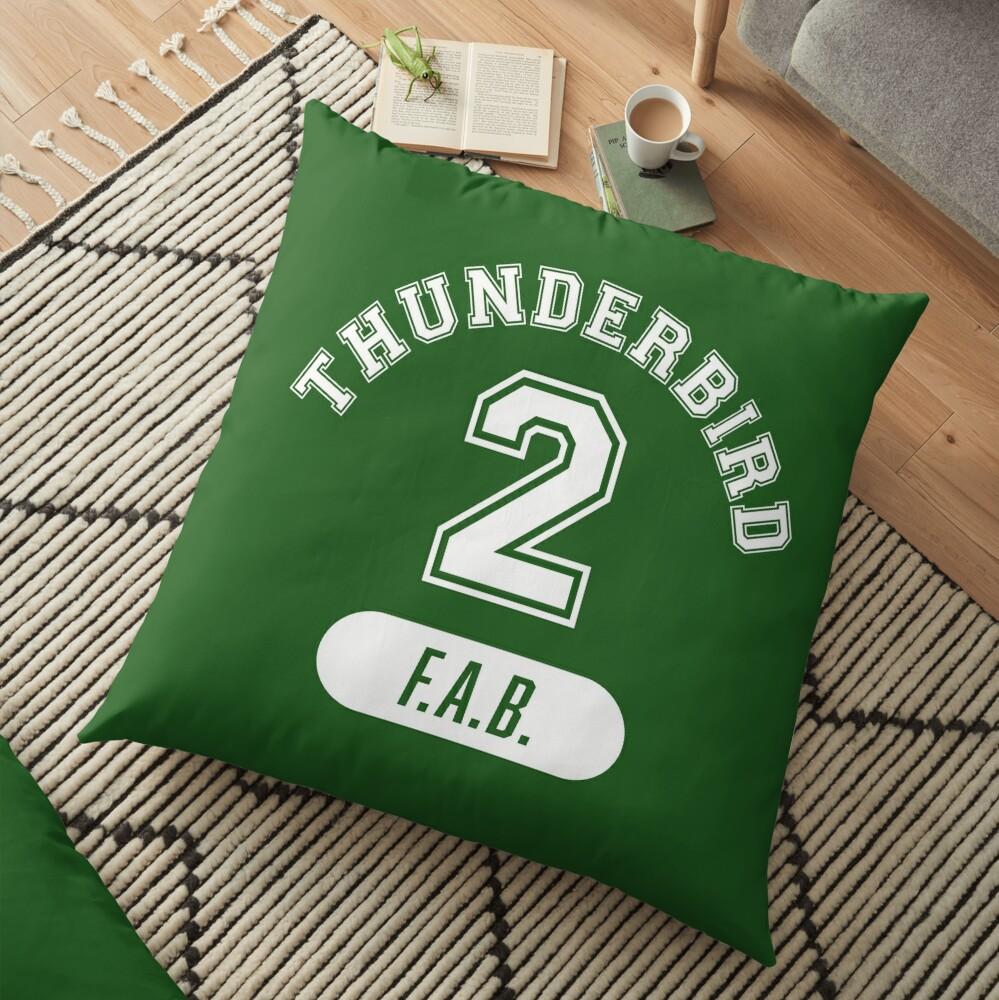 Thunderbird 2 with FAB. Floor Pillow