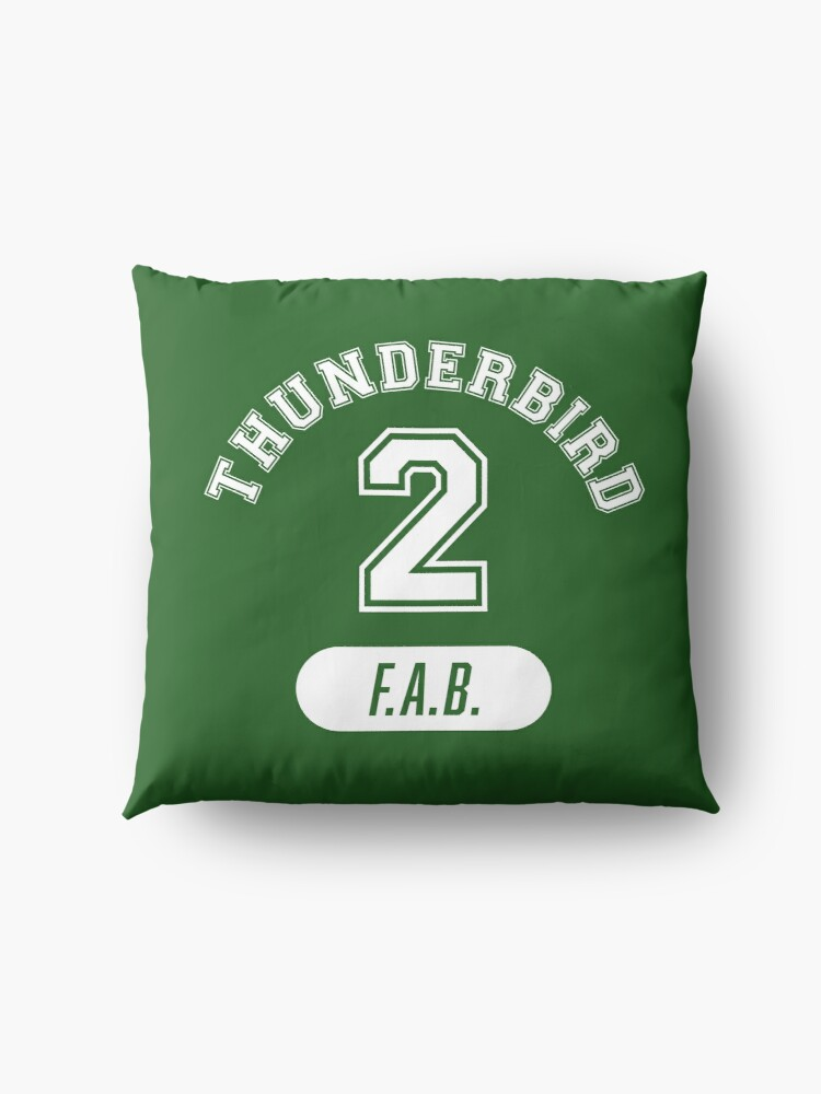 Alternate view of Thunderbird 2 with FAB. Floor Pillow