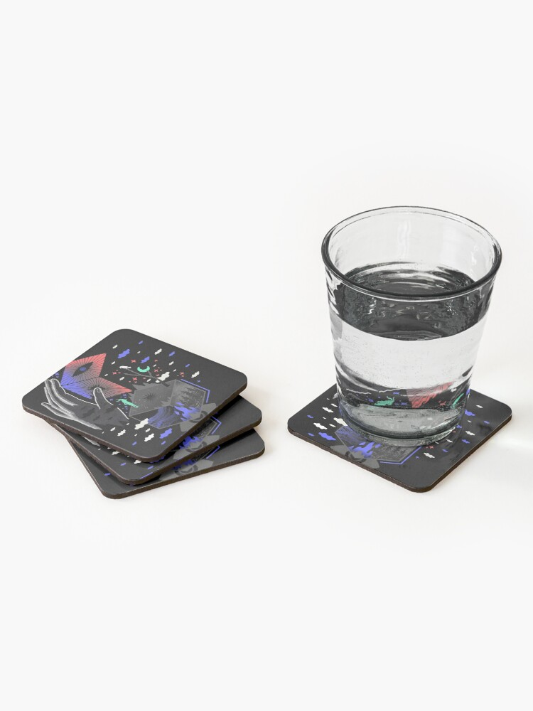 Alternate view of Nether Coasters (Set of 4)