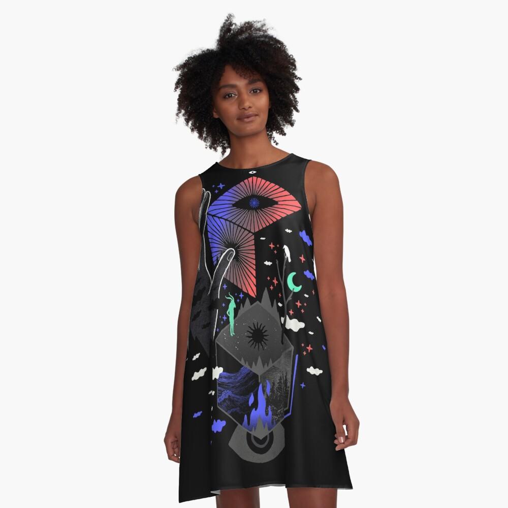 Nether A-Line Dress
