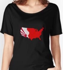 The Man in the High Castle Map Women's Relaxed Fit T-Shirt