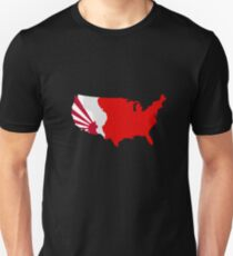 The Man in the High Castle Map T-Shirt
