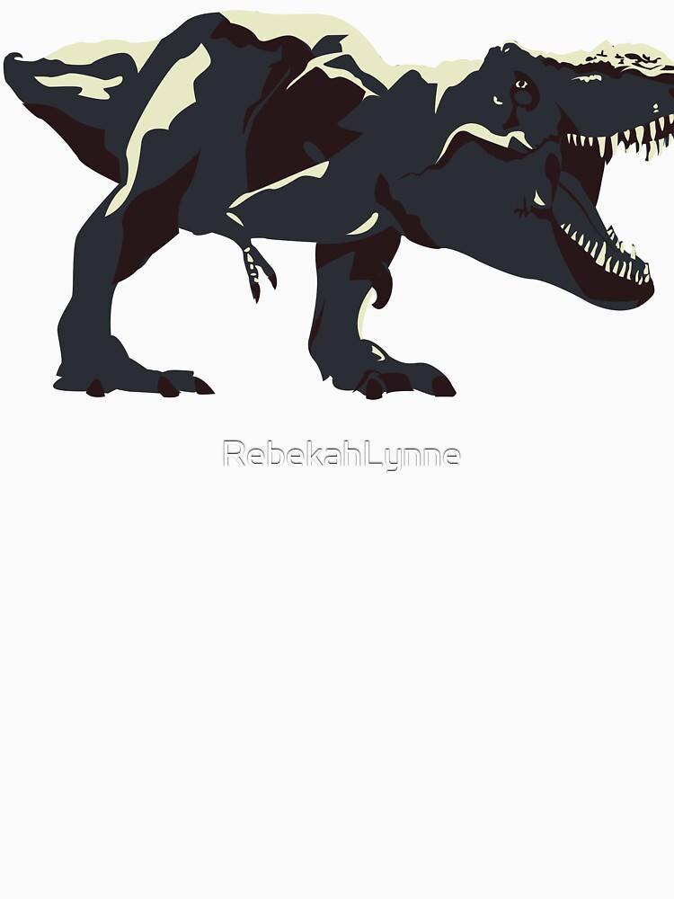 T Rex Roar by RebekahLynne