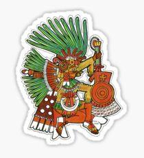 Mayan God Tezcatlipoca Sticker