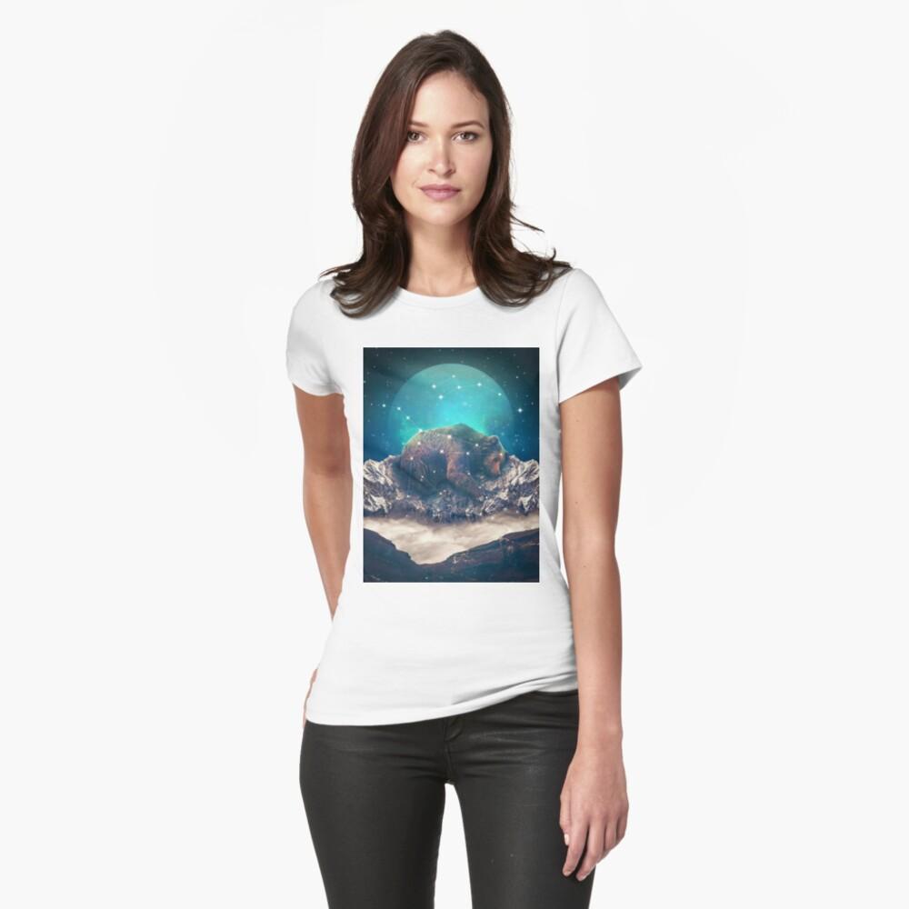 Unter den Sternen | Ursa Major Tailliertes T-Shirt