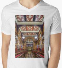 King's College Chapel Mens V-Neck T-Shirt
