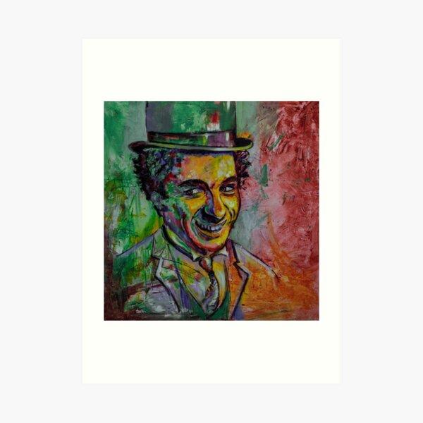 Charly Chaplin Lámina artística