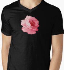 Flower pink peony Men's V-Neck T-Shirt