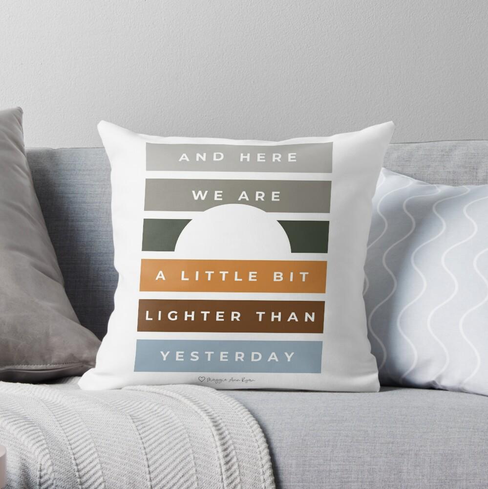 Pineapple Fog  Throw Pillow