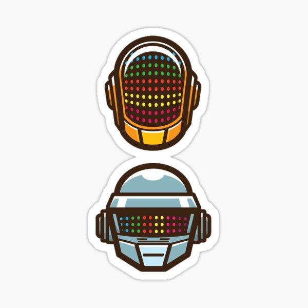 Daft Punk Spacemen Heads HIGH QUALITY Sticker