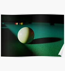 Snooker table Poster