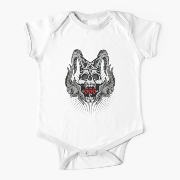 Affliction style  clothing, Death Metal  Short Sleeve Baby One-Piece