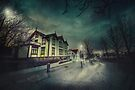 Silent Night Street by Svetlana Sewell