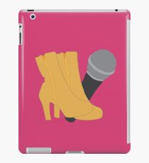 Hedwig Heels and Microphone iPad Case/Skin