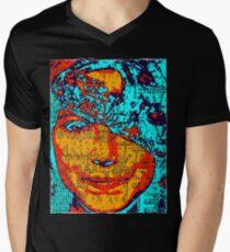 MURIEL BRIGHT  Mens V-Neck T-Shirt