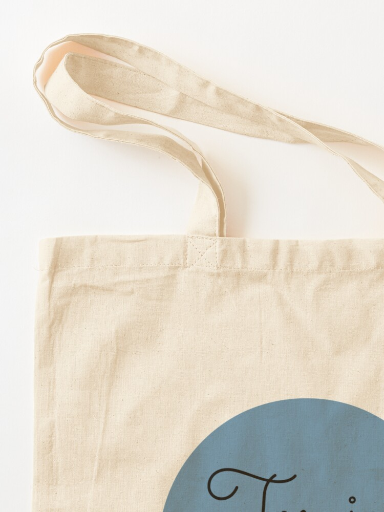 Alternate view of Tomie's Cuisine blue logo Tote Bag